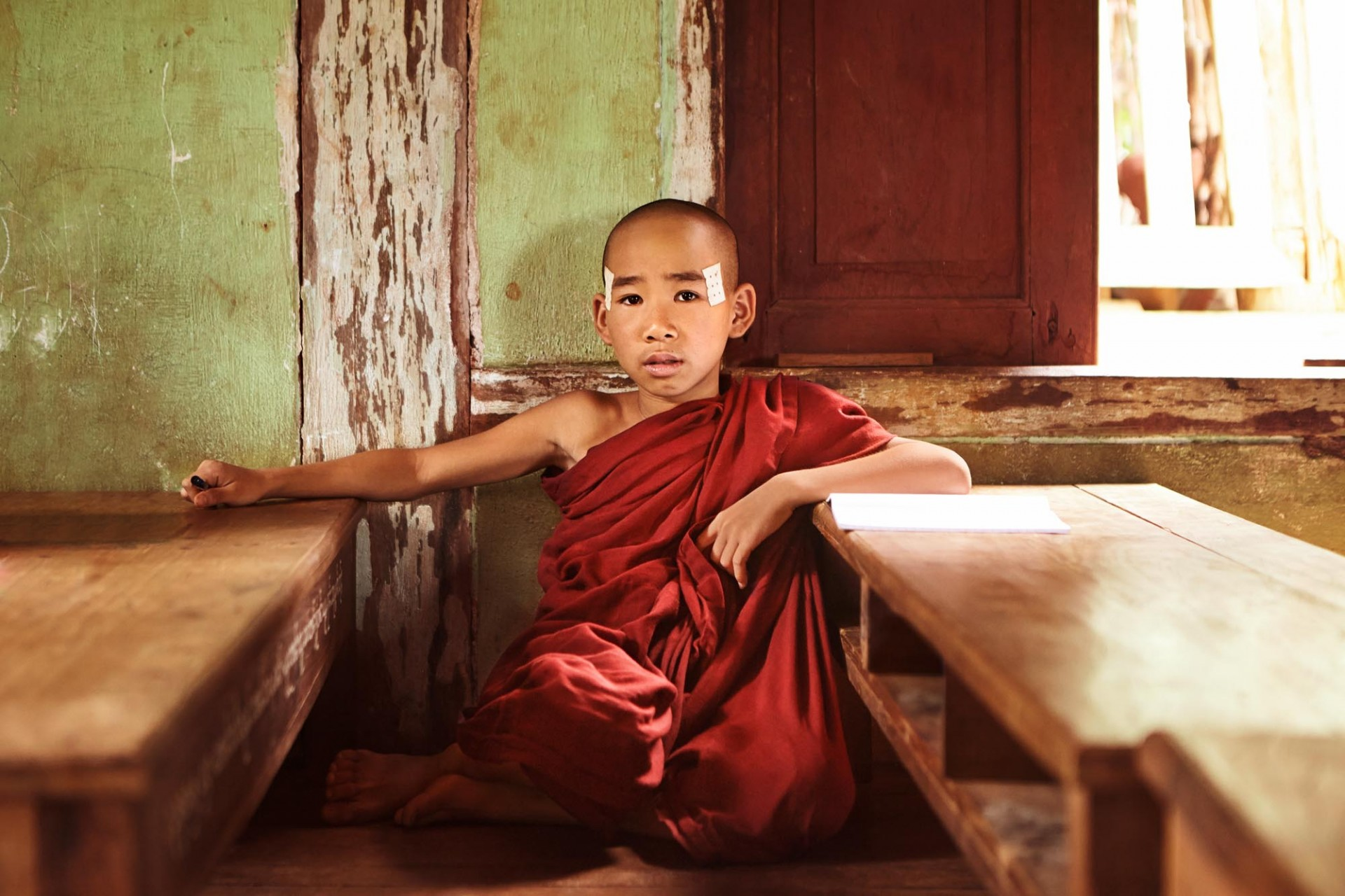 CAROLIN WINDEL Monks, Myanmar (more-click here)