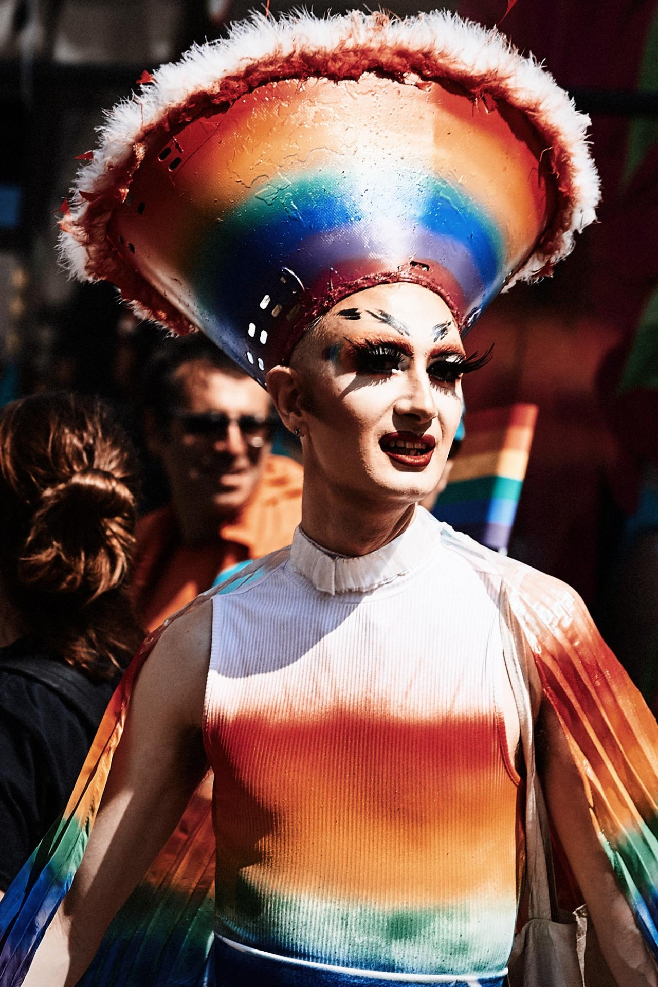 CAROLIN WINDEL Pride London, 2018 (more-click here)