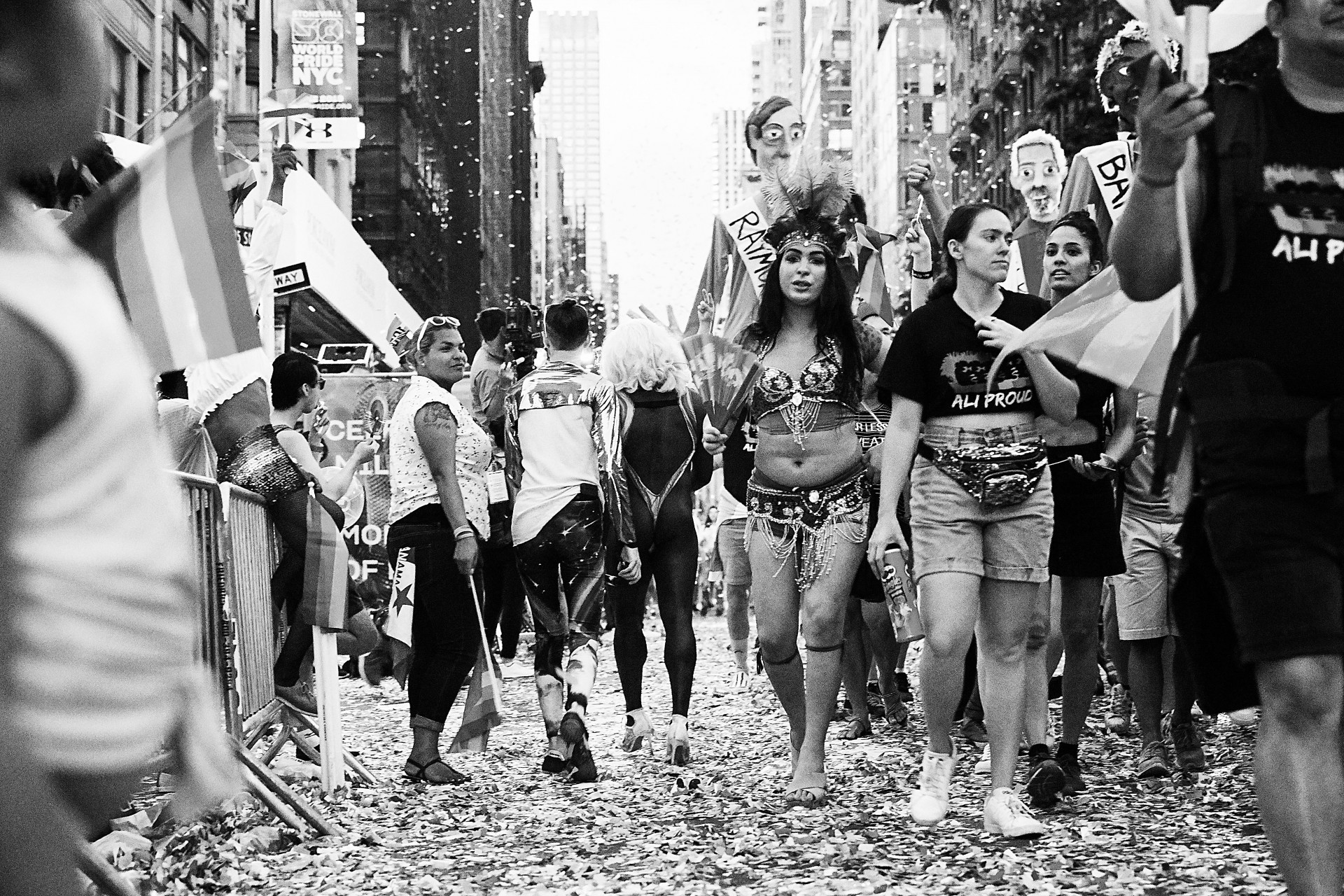 CAROLIN WINDEL New York Pride 2019, 50 years of Stonewall (more-click here)