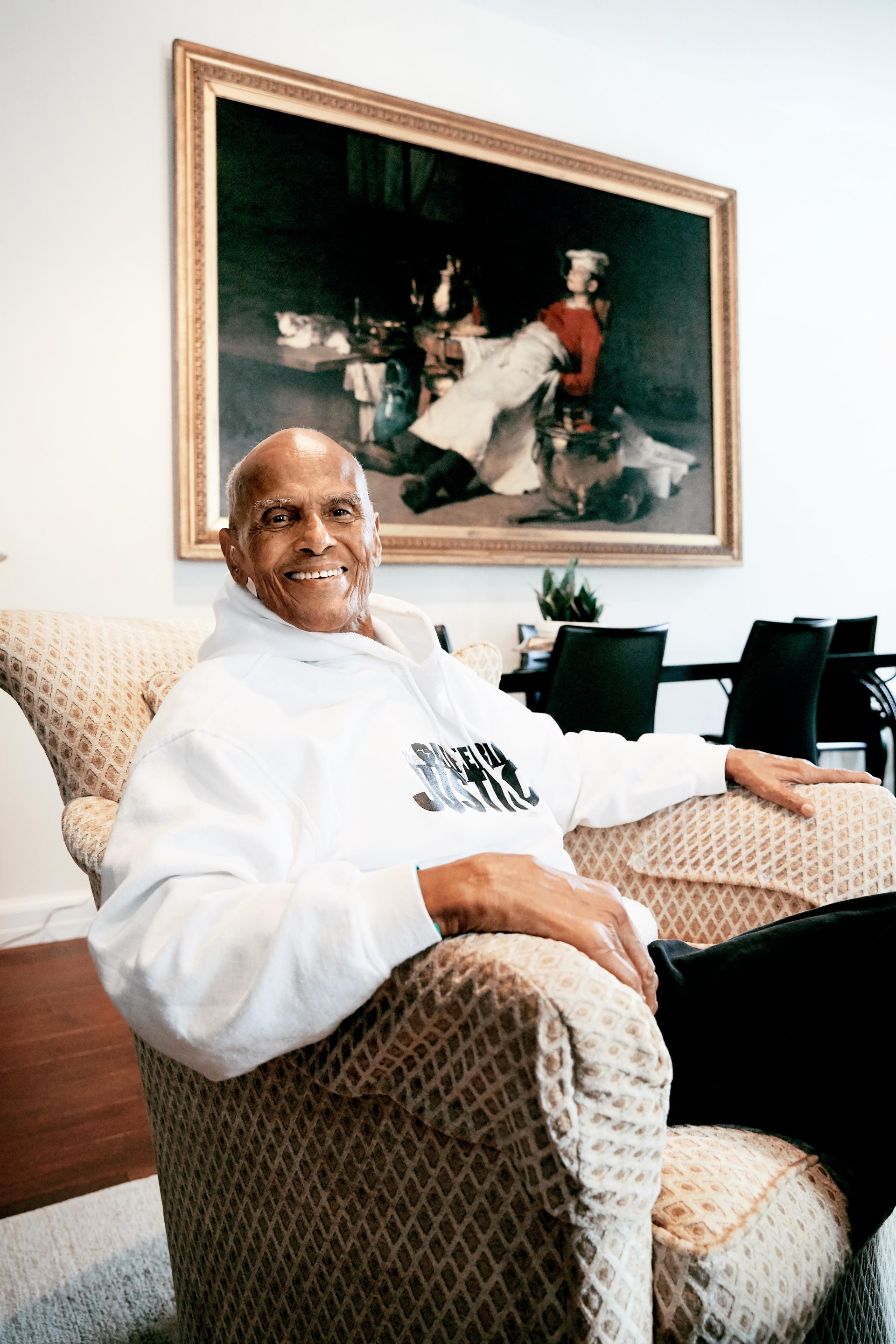 CAROLIN WINDEL Harry Belafonte at home, New York 2019 (more-click here)