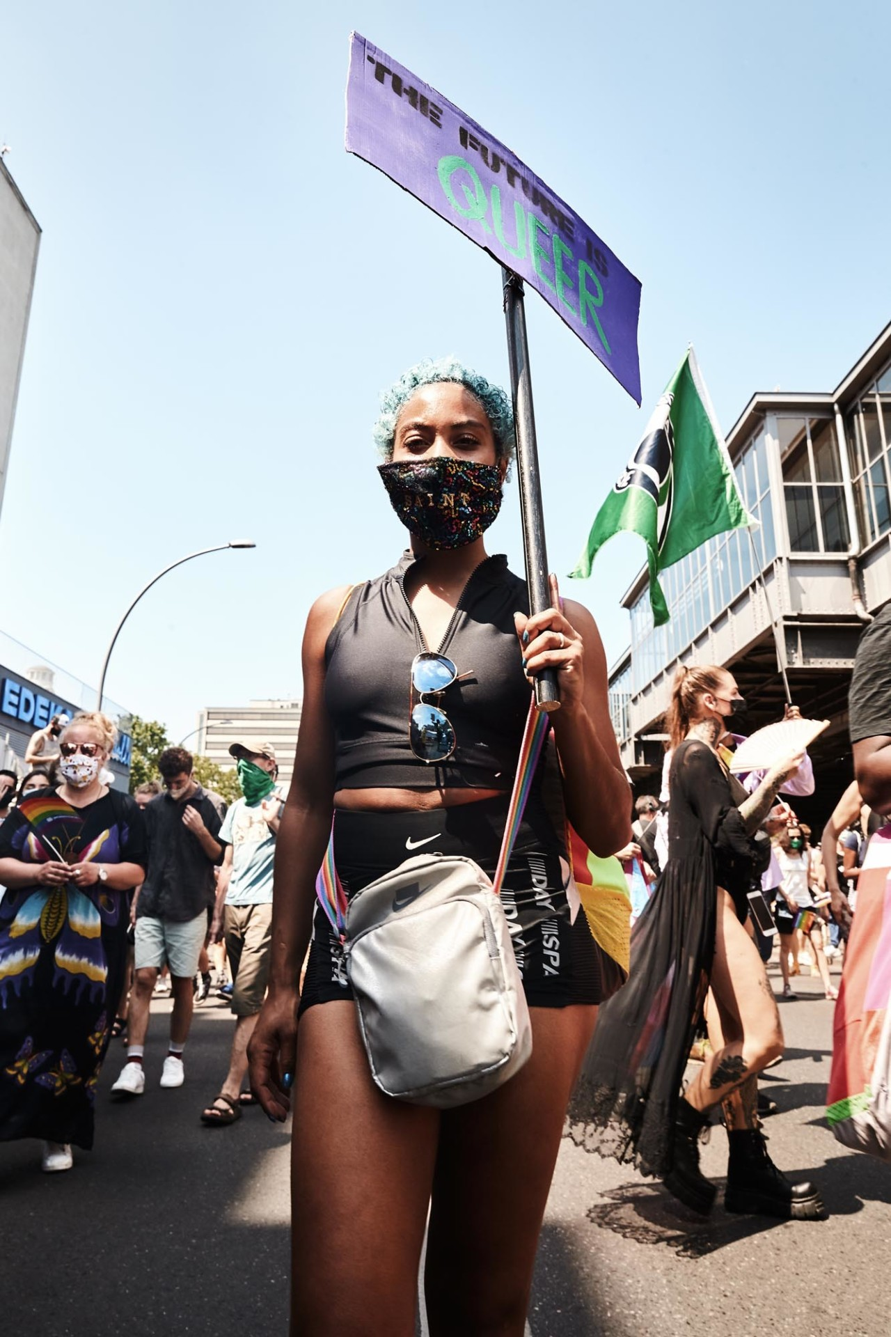 CAROLIN WINDEL Pride March with the House of St. Laurent, Berlin